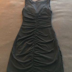 Ruby Rox Dresses - Flirty Little Black Dress with Mesh Cutout
